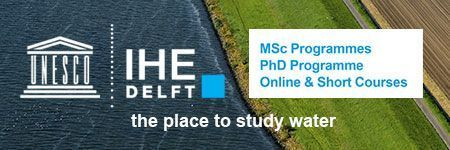 Graduate education at IHE Delft combines Dutch water expertise with the latest insights from professional practices worldwide.