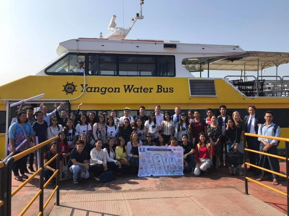 Second day of Myanmar - Netherlands Water Challenge 2018