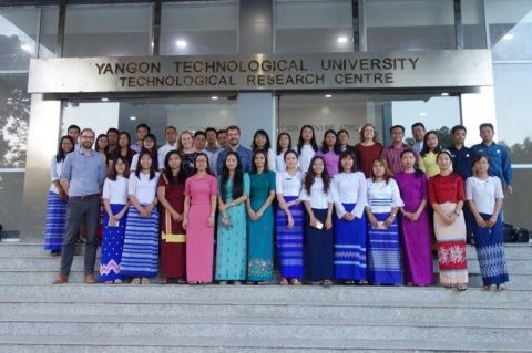 Reflections and personal experiences during 3-day training course of user-friendly application – RainMyanmar