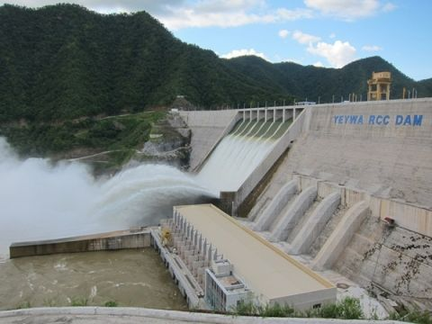 French to help finance Myanmar's hydropower upgrades
