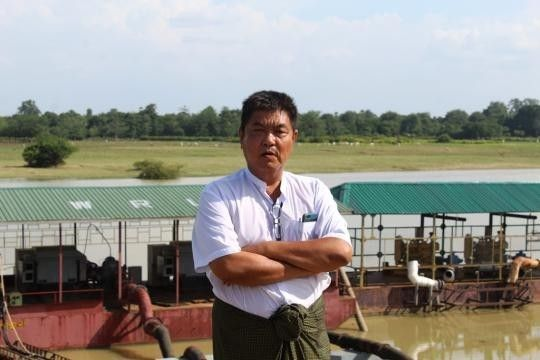 Mya-Than-assistant-director-and-chief-of-Sagaing-district-at-Myanmars-Irrigation-and-Water-Utilisation-Management-Division-Photo-Khine-Kyaw-Myanmar-Eleven