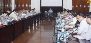 State Counsellor emphasizes the importance of water studies at Yangon University