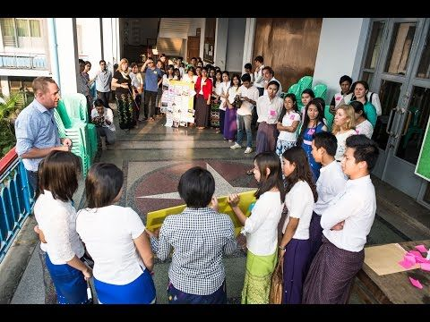 Myanmar Netherlands Water Challenge 2016 - Campus Program @ Yangon Technological University